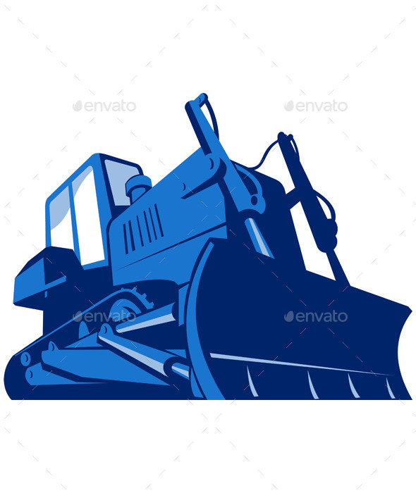 Retro Bulldozer