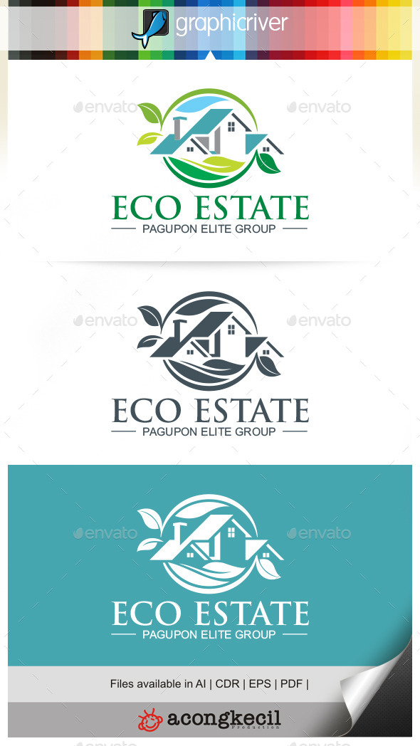 GraphicRiver Eco Estate 9929284