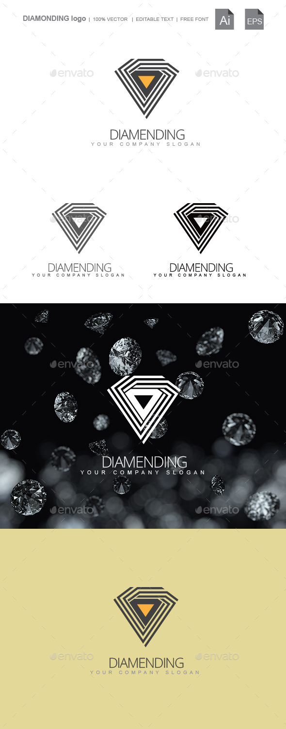 GraphicRiver Diamonding 9929321