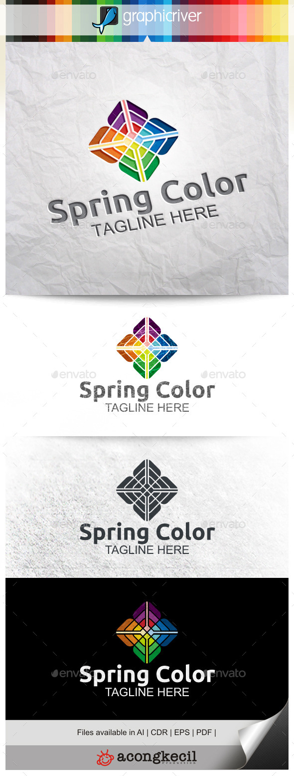 GraphicRiver Spring Color V.2 9929592