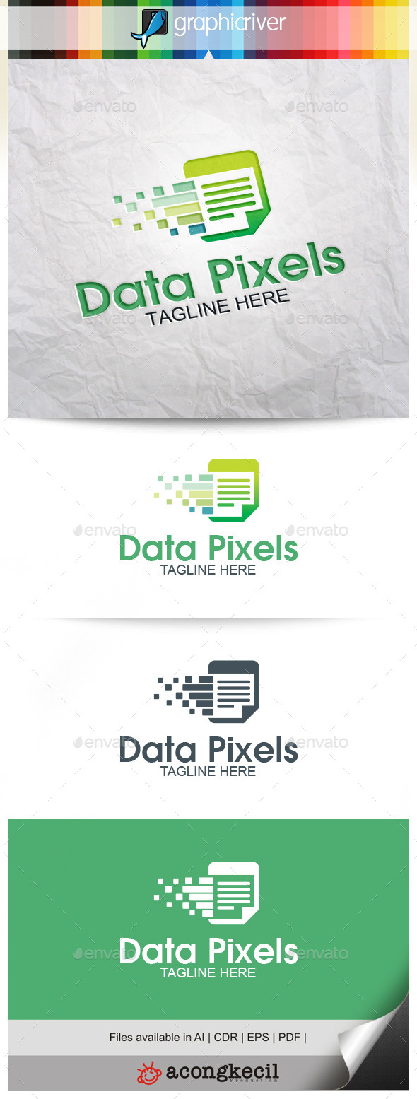 GraphicRiver Data Pixels 9929606