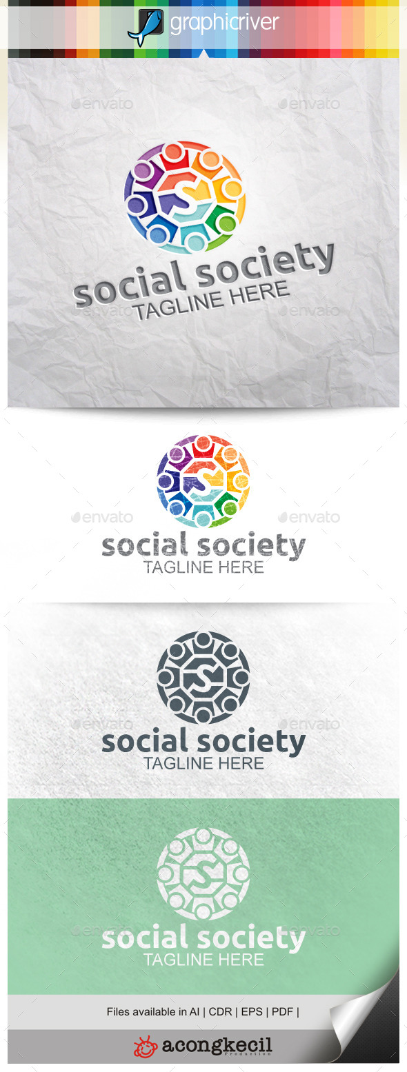GraphicRiver Social Society V.2 9929631