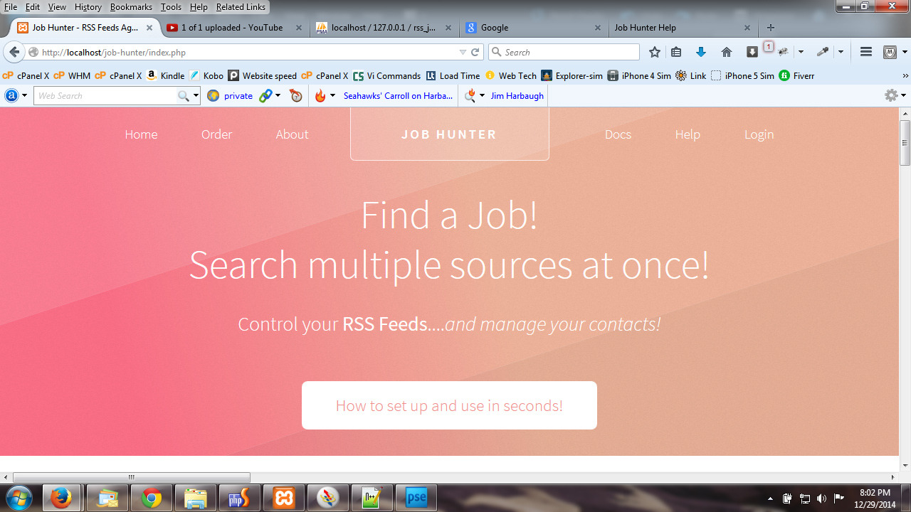 job hunter multiple rss job feed aggregator by kelchuk codecanyon screen captures screen capture 0 jpg