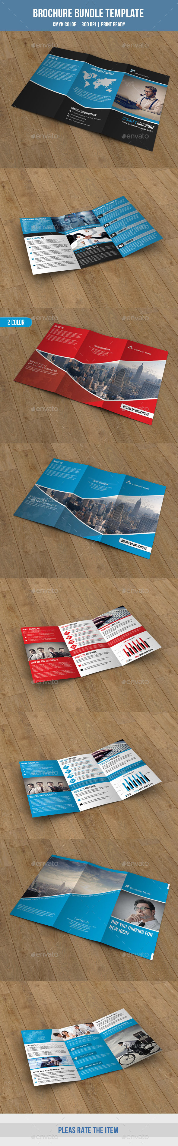 3 in 1 Business Trifold Bundle