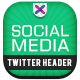 Social Meda Marketing Twitter Header - GraphicRiver Item for Sale