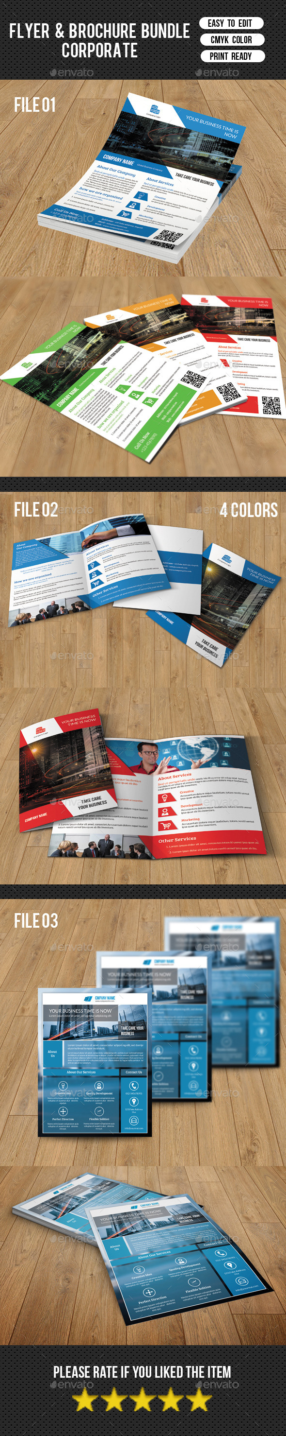 Brochure and Flyer Bundle-V04
