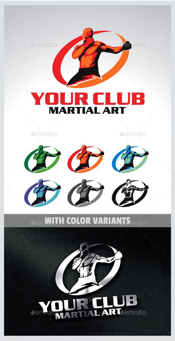 GraphicRiver Martial Arts Logo 9929769