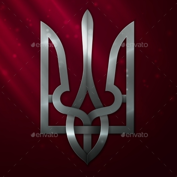 GraphicRiver Ukraine Coat of Arms 9929770