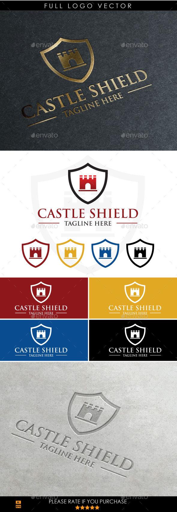 GraphicRiver Castle Shield 9929812