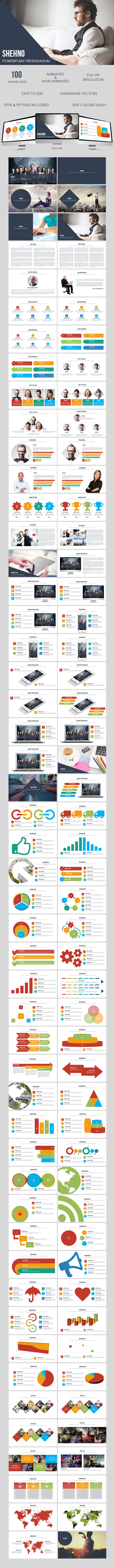 GraphicRiver Shehno Multipurpose Presentation Template 9902872