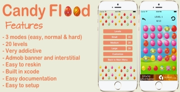CodeCanyon Candy Flood 9929947