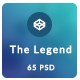 The Legend - Multi-Purpose PSD Template - ThemeForest Item for Sale