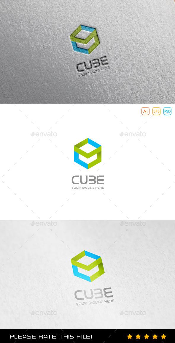 GraphicRiver Cube Logo 9929975