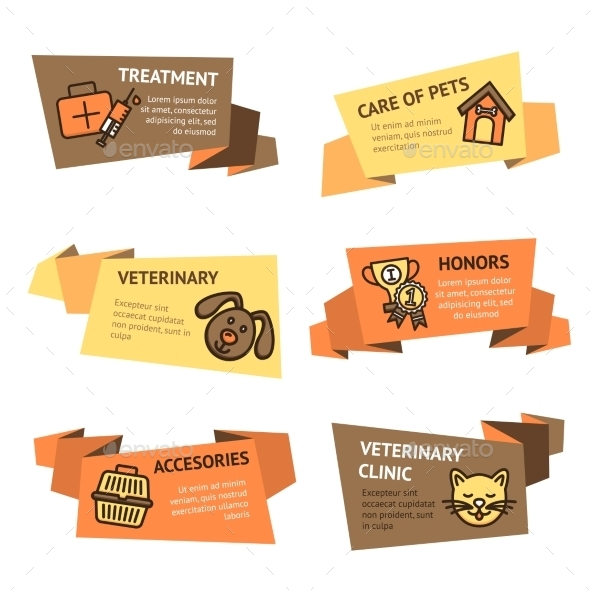 GraphicRiver Veterinary Banner Set 9930113