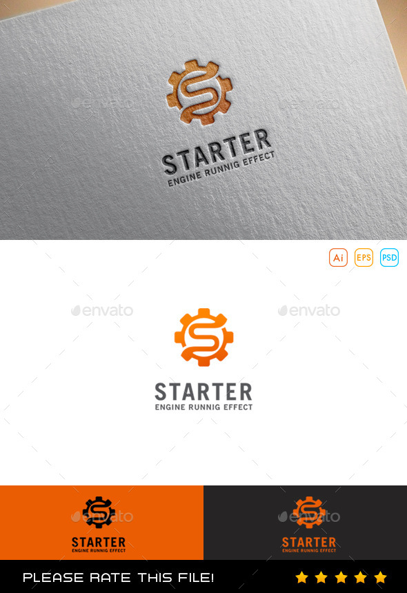 GraphicRiver S Gear Logo 9930144