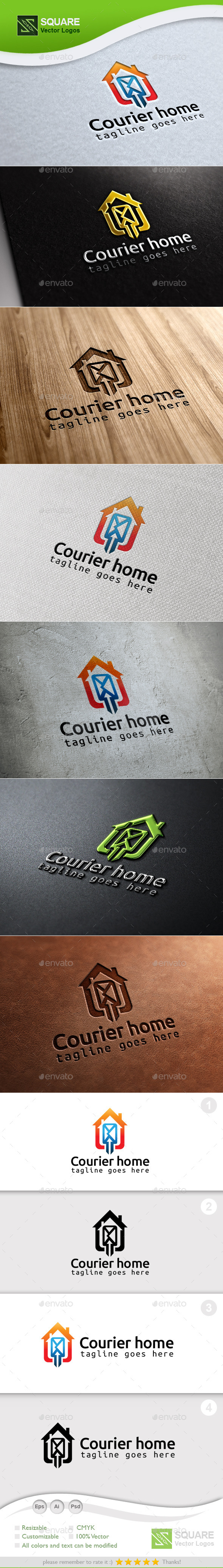 Courier Spot Custom Logo Template