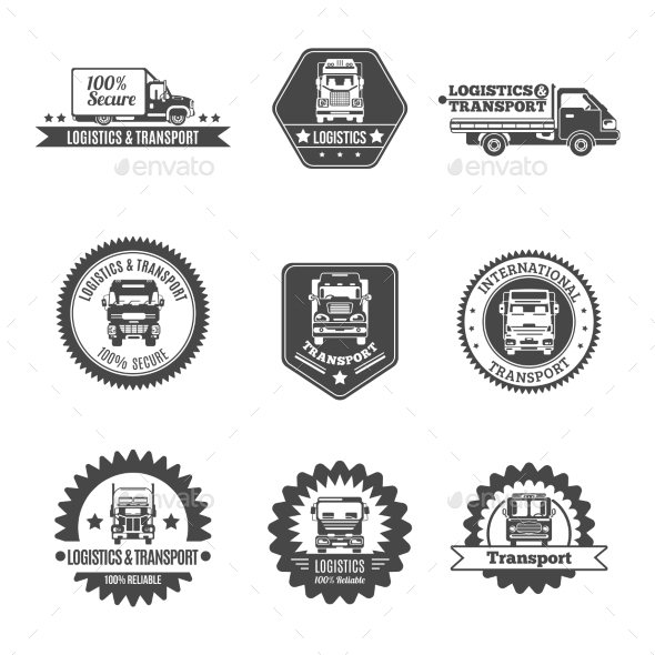 Truck Label Set