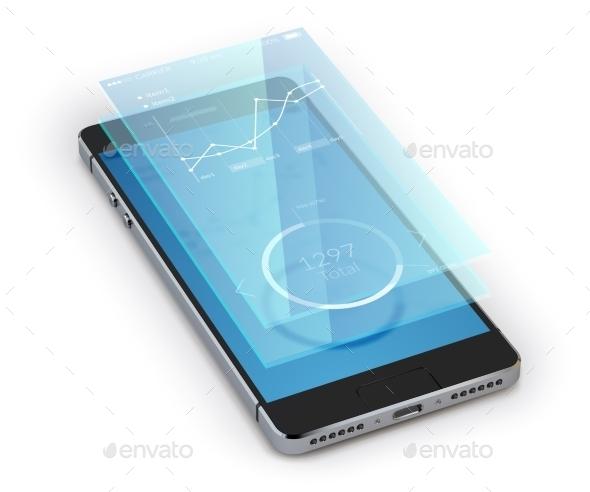 GraphicRiver Smartphone Ui Realistic 9930531