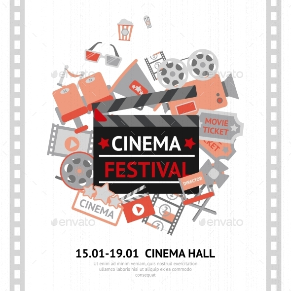 GraphicRiver Cinema Festival Poster 9930544