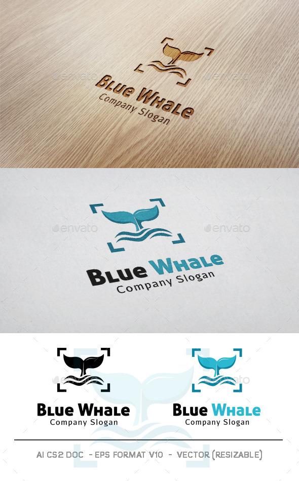 GraphicRiver Blue Whale V2 Logo 9930547