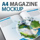 A4 Magazine / Catalog Mock-Up - GraphicRiver Item for Sale