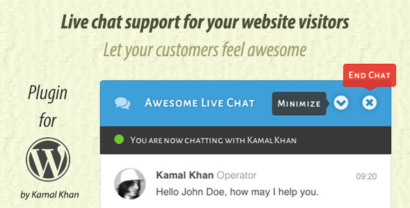 CodeCanyon Awesome Live Chat 9931156