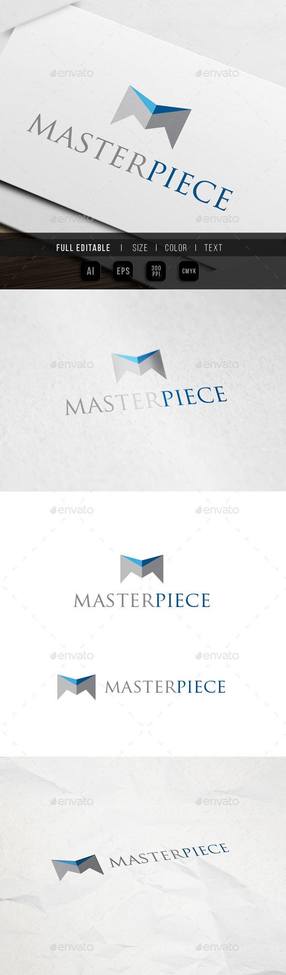GraphicRiver Master Letter M Logo 9931577