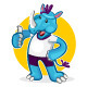 Rhino Sports Mascot Collection Set - GraphicRiver Item for Sale