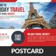 Tour Travel Business Postcard Psd Template  - GraphicRiver Item for Sale