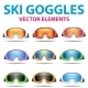 Snowboard Goggles - GraphicRiver Item for Sale