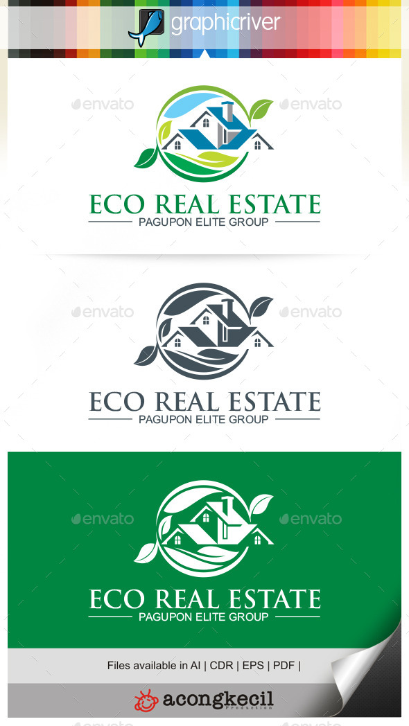 GraphicRiver Eco Real Estate 9932526