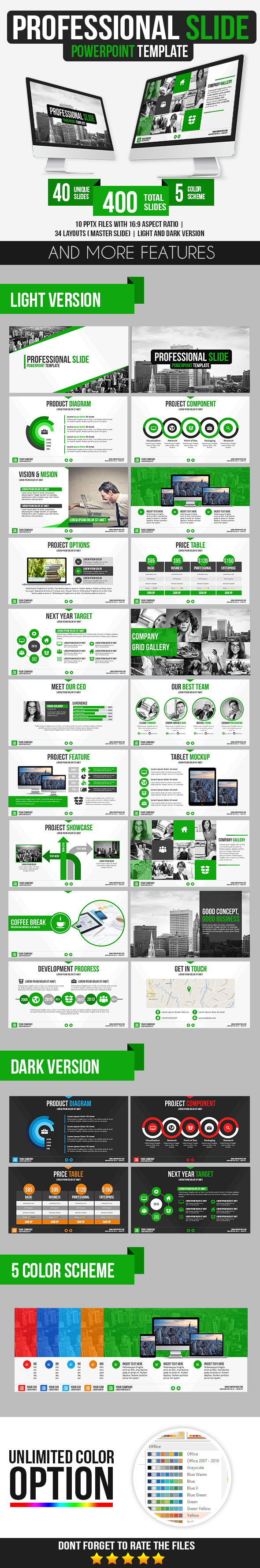 GraphicRiver Professional Slide PowerPoint Template 9911210