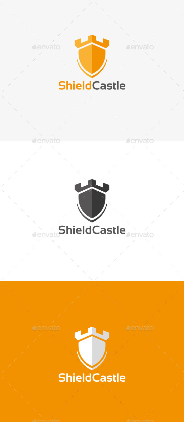GraphicRiver Shield Castle 9933051