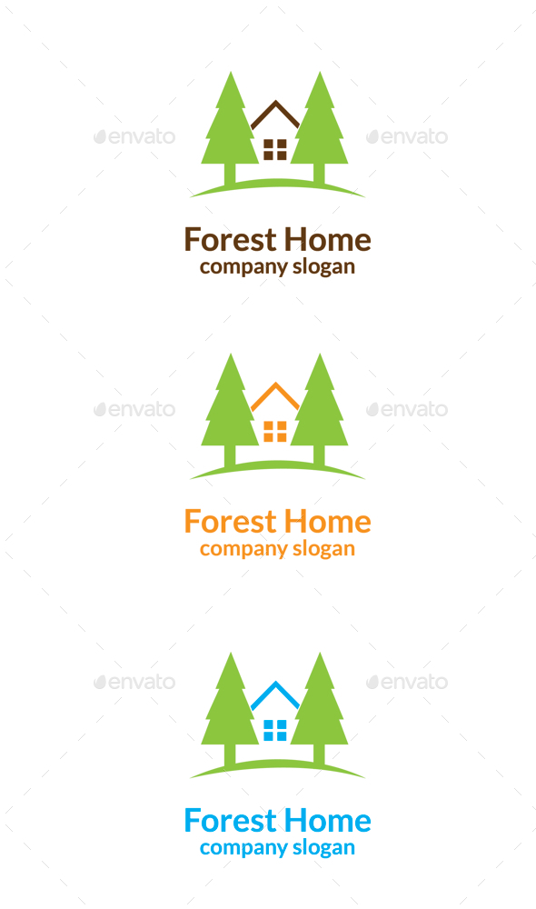 GraphicRiver Forest Home 9933341