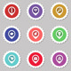 Vector Icon Stickers    - GraphicRiver Item for Sale