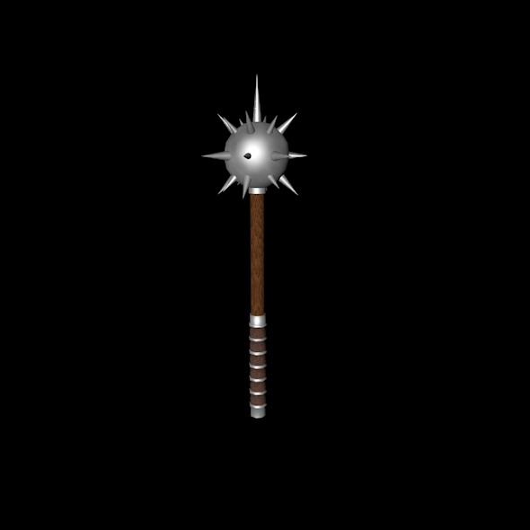 This Is the Medieval Mace - 3DOcean Item for Sale