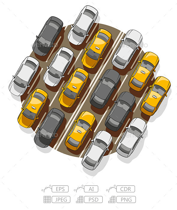 GraphicRiver Traffic Jam 9934059