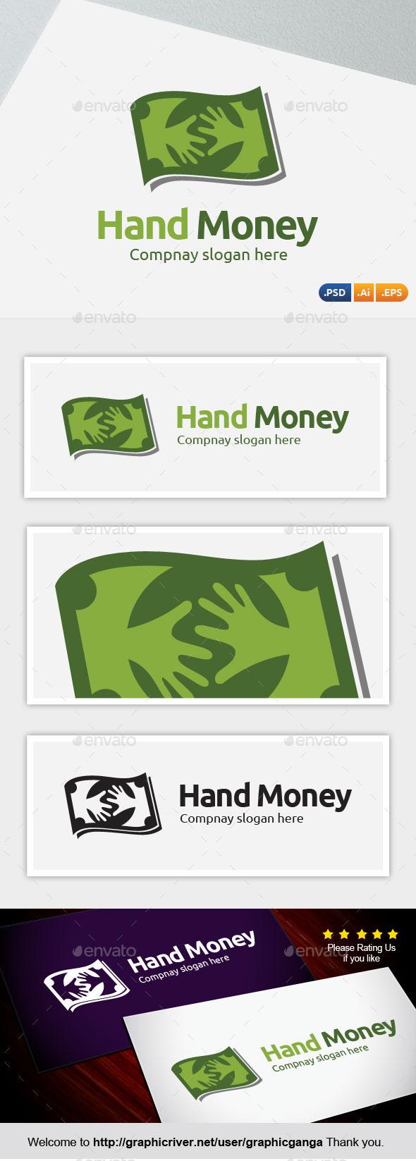 GraphicRiver Hand Money 9934947