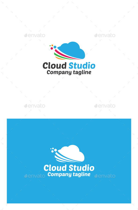 GraphicRiver Cloud Studio Logo 9934948