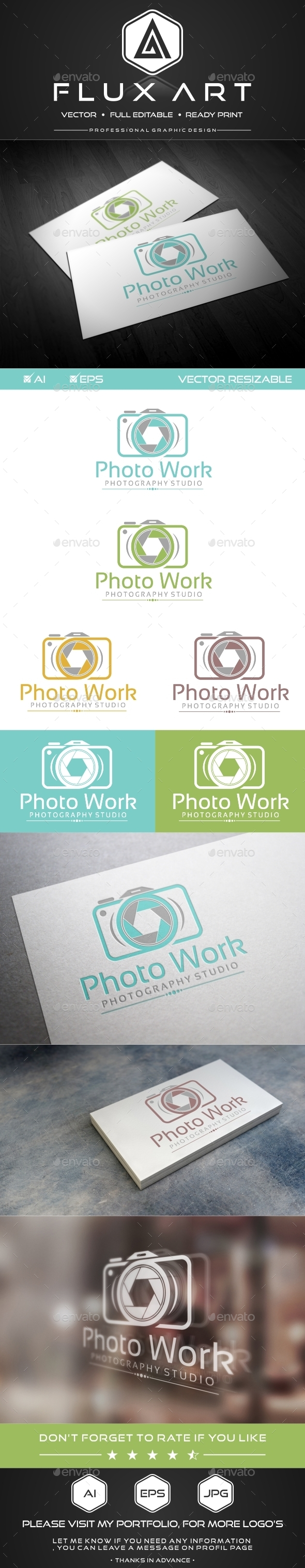 GraphicRiver Photography Studio Logo 9935139
