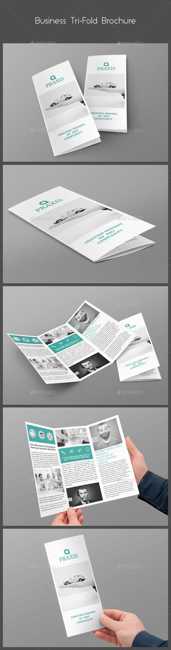 GraphicRiver Business Tri-Fold Brochure 9935231