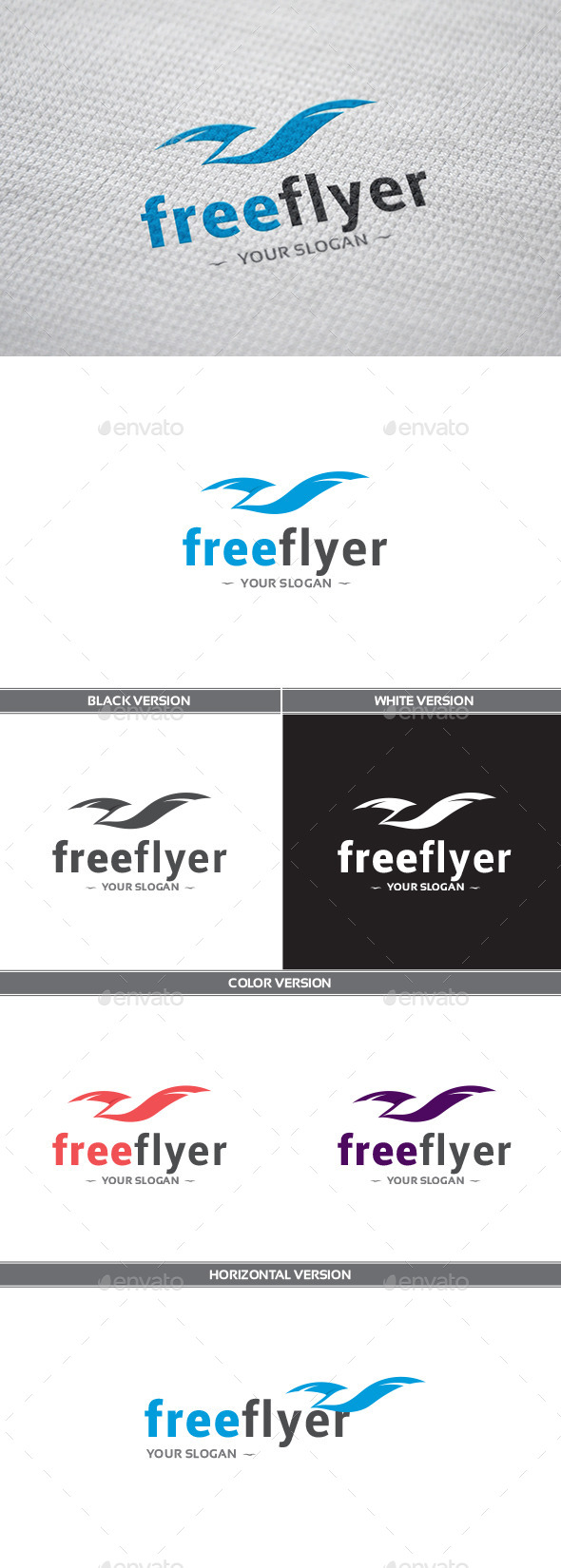 GraphicRiver FreeFlyer Logo 9935353