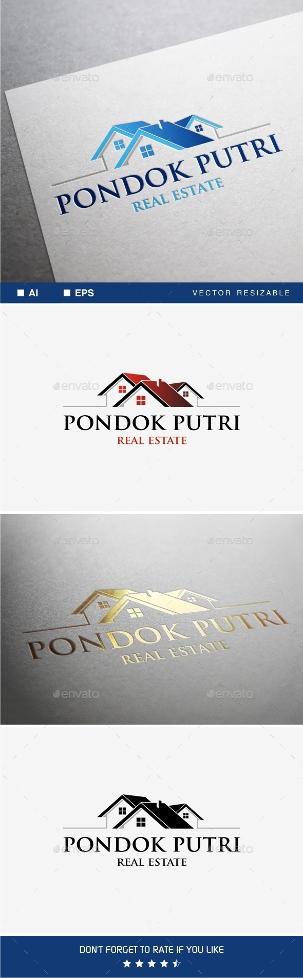 GraphicRiver Real Estate Logo 9935474