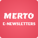 Merto E-newsletter Template - GraphicRiver Item for Sale