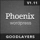 Phoenix - Clean Responsive Wordpress Theme - ThemeForest Item for Sale