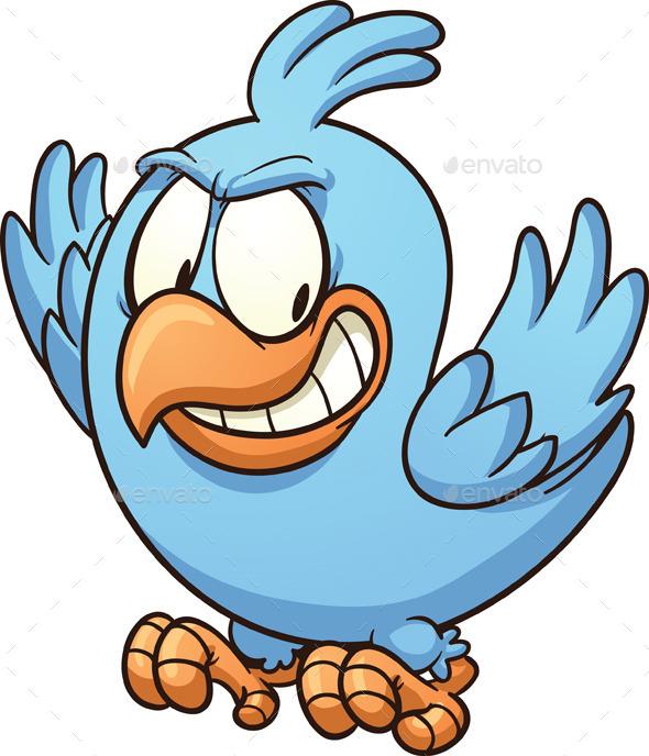 Evil Blue Bird