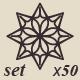 50 Vector Ornamental Symbols - GraphicRiver Item for Sale