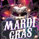 Carnival & Mardi Gras Party Flyer - GraphicRiver Item for Sale