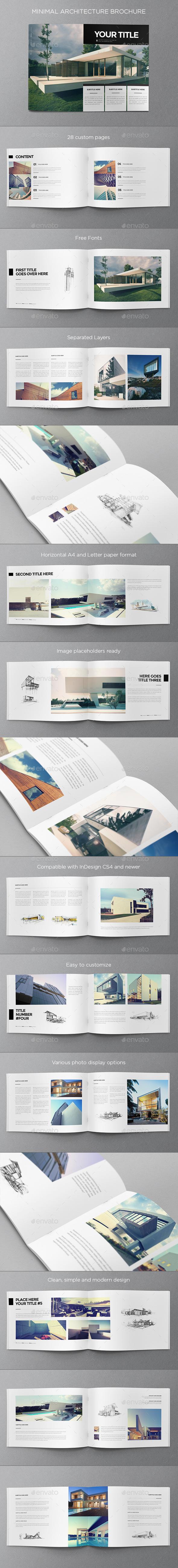 GraphicRiver Minimal Architecture Brochure 9936143