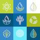 Organic Logos - GraphicRiver Item for Sale